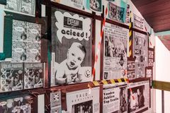 Photojournalist Iina Esko has collected almost 2,000 photos, flyers and posters from clubbers who have opened their archives for the exhibition. Around 1,500 photos are on display at the exhibition. Photo: Maija Astikainen