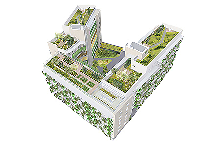 Vihrestä vihrein -kerrostalo, Arkkitehtuuri- ja muotoilutoimisto Talli Oy