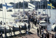 The inaugural Helsinki Boat-Afloat Show took place on the Sirpalesaari island in September 1978. The Finnish Fair Corporation and the Finnish Yacht Club co-operated in the arrangements,commissioned by the Finnish Boat and Motor Association, known today as Finnboat.The inaugural edition of the show featured 50 exhibitors and 68 boats.