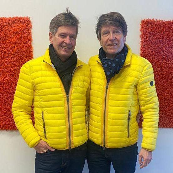 Jukka ja Timo Lohjalla helmikuussa 2021