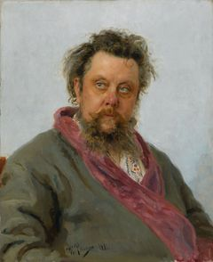 Ilya Repin: Portrait of Composer Modest Mussorgsky (1881). The State Tretyakov Gallery. © The State Tretyakov Gallery, Moscow