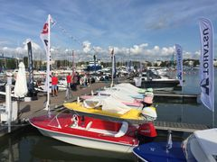 At the Helsinki Boat-Afloat Show, the positive trend inspired by the warm summer is illustrated by the fact that the moorings for the exhibitors were sold out. During the four-day event, more than 150 exhibitors will showcase their offering including 260 boats in the fully booked exhibition area.