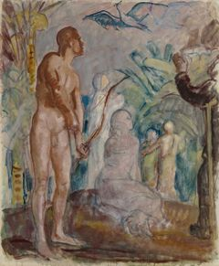 Magnus Enckell: Bird of Paradise, sketch (1925). Finnish National Gallery / Ateneum Art Museum. Photo: Finnish National Gallery / Kirsi Halkola.
