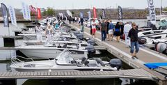 Almost 280 boats were exhibited at the show, and altogether 166 exhibitors were there to showcase the motor boats and the sail boats along with different boating-related products and services.
