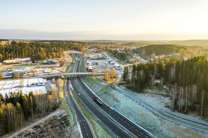 Uudessa hankkeessa kehitetään mallia, jossa ekologisen kompensaation avulla hyvitetään välttämättömät luontohaitat kaupunkien maankäytössä. Kuva: Lahden kaupunki