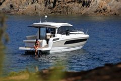 Jeanneau will display its new NC 33 cruiser along with Jeanneau Leader 36 and Merry Fisher 605 Marlin.