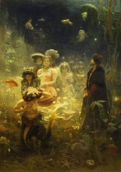 Ilya Repin: Sadko in the Underwater Kingdom (1876). State Russian Museum. © State Russian Museum, St. Petersburg