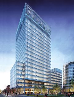 No 1 Spinningfields office property in Manchester.