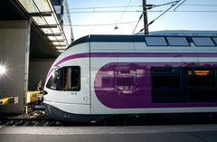 I trains from the airport to Helsinki via Myyrmäki and Huopalahti terminate at Pasila during the daytime 18 July-4August. Photo: Lauri Eriksson/HSL