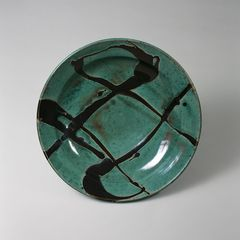 Shōji Hamada: Bowl (1956). Japan Folk Crafts Museum, Tokyo. Photo: Japan Folk Crafts Museum.