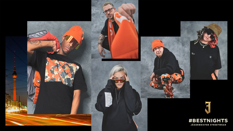 JÄGERMEISTER LAUNCHES BEST NIGHTS STREETWEAR COLLECTION BACKED BY...