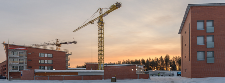 Oulussa Linnanmaan Tietolinjalle nousee Temotekin rakentamia asuntoja