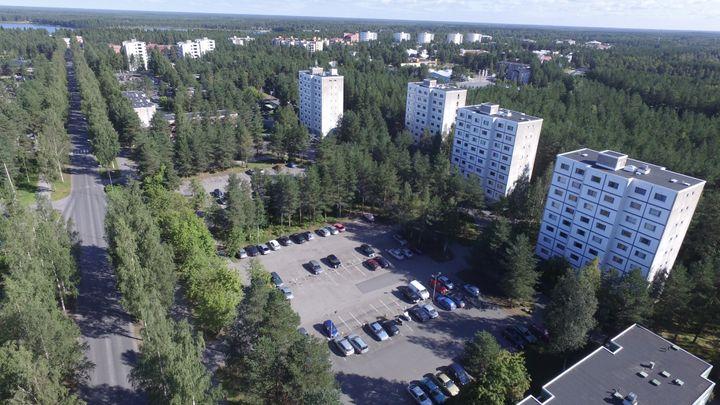 PSOASin kohteita Oulun Linnanmaalla. Kuva: PSOAS