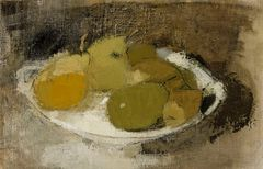 Helene Schjerfbeck: Still Life in Green, c. 1930. Finnish National Gallery / Ateneum Art Museum, coll. Antell. Photo: Finnish National Gallery / Hannu Aaltonen