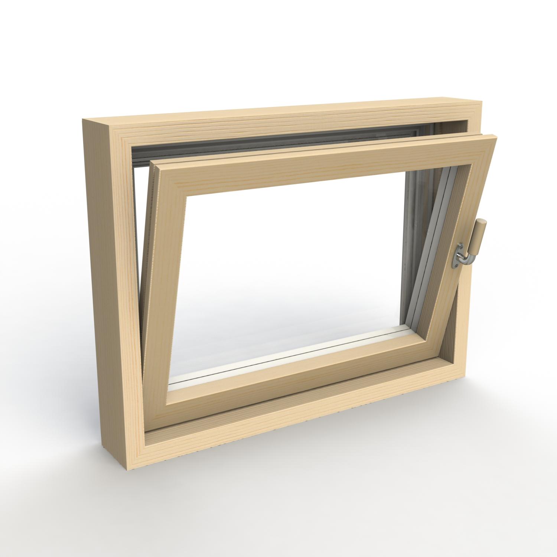 saunan ikkuna