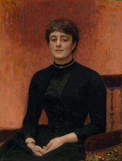Ilya Repin: Portrait of Artist Elizaveta Zvantseva (1889). Finnish National Gallery / Ateneum Art Museum. Photo: Finnish National Gallery / Jenni Nurminen.
