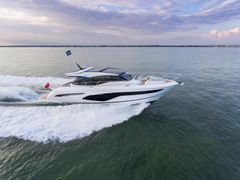 Princess, the UK manufacturer known for its luxury boats, will place three models on show at the pier: the Princess S65, the biggest boat of the event, the Princess V60 making its global debut and its smaller sister model Princess 43.
