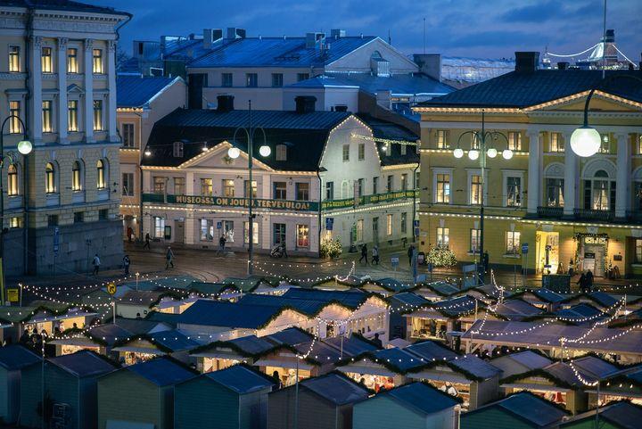 Helsingin kaupunginmuseo Senaatintorin kulmalla. Kuva: Julius Konttinen