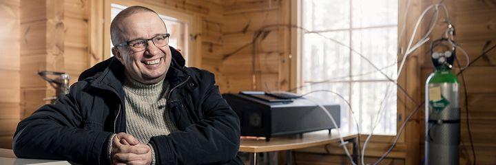 Aktemiaprofessori Markku Kulmala