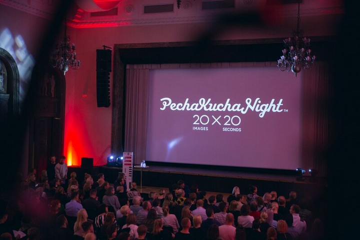 PechaKucha Night. Kuva Helsinki Design Week.