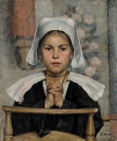 Maria Wiik: In the Church (1884). Finnish National Gallery/Ateneum Art Museum, Herman and Elisabeth Hallonblad Collection. Photo: Museokuva.