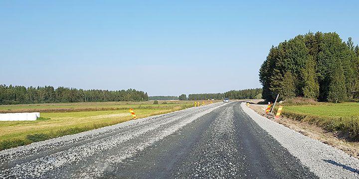 Kantatie 63 Sievi-Ylivieska.