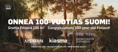 Kansallisgallerian taidemuseoissa lähes 800 000 kävijää vuonna 2017 / Nästan 800 000 besökare på Nationalgalleriets konstmuseer år 2017 / The Finnish National Gallery's Art Museums Attracted Nearly 800,000 Visitors in 2017