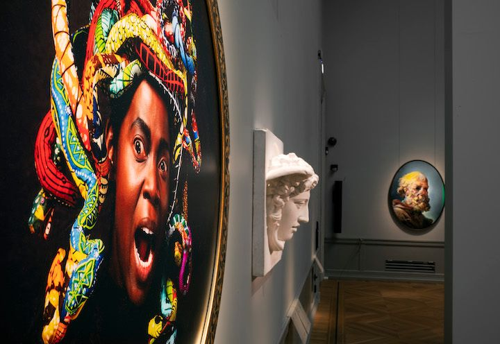 Exhibition at the Nationalmuseum in Stockholm. Photo: Finnish National Gallery / Hannu Pakarinen.