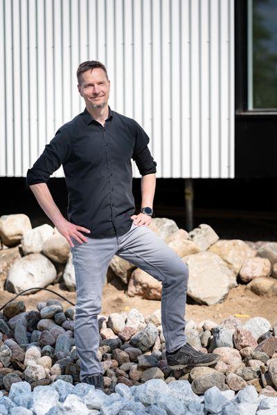 Arkkitehti Matti Kuittinen pitää Pyörre-talon tutkimustuloksia rohkaisevina