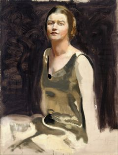 Antti Favén: Study for a Portrait of a Lady (Mrs. Edith von Bonsdorff) (1922). Finnish National Gallery/Ateneum Art Museum, Ahlström Collection. Photo: Finnish National Gallery/Kirsi Halkola.
