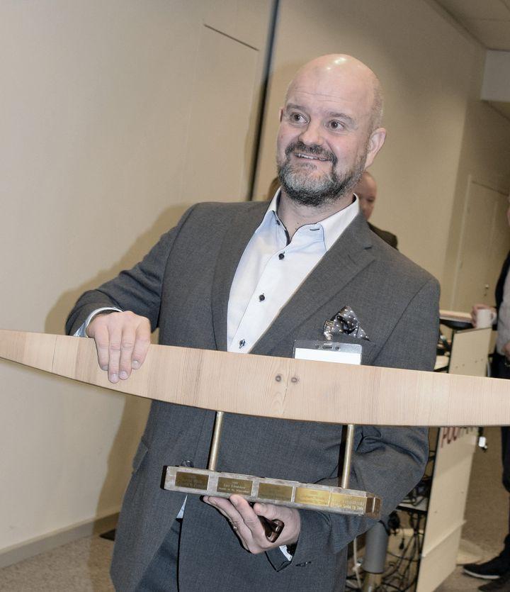 Vuoden puutavarakauppias 2018 on Seppo Kouvonen Starkista.