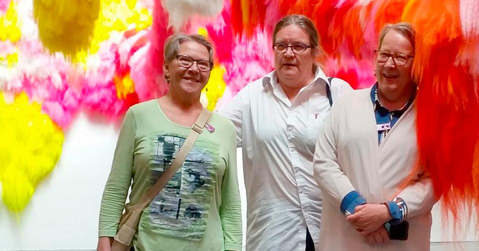 Pirjo Salo, Hilkka Roponen ja Riitta Kankanpää, Museokortin seikkailijat