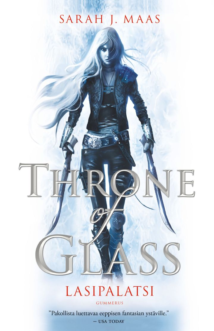 Sarah J. Maas: Throne of Glass - Lasipalatsi (kansi: Talexi)