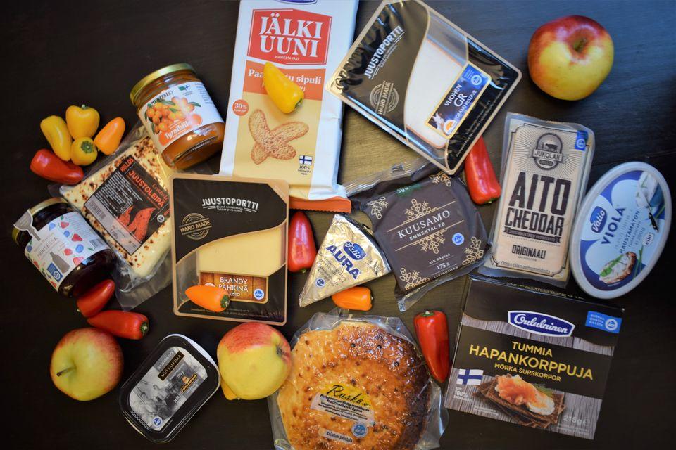 Kotimaisia juustoherkkuja itsenäisyyspäivään