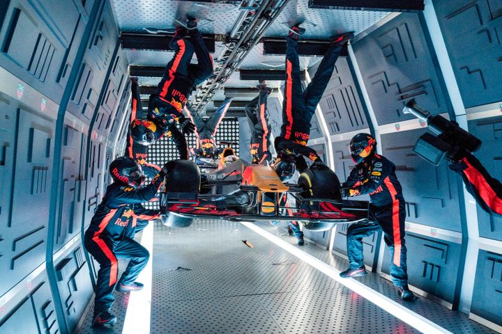 Red Bull Racing 2019 Zero Gravity Project by Aston Martin Red Bull Racing. Kuvacredit: Denis Klero/Red Bull Content Pool.