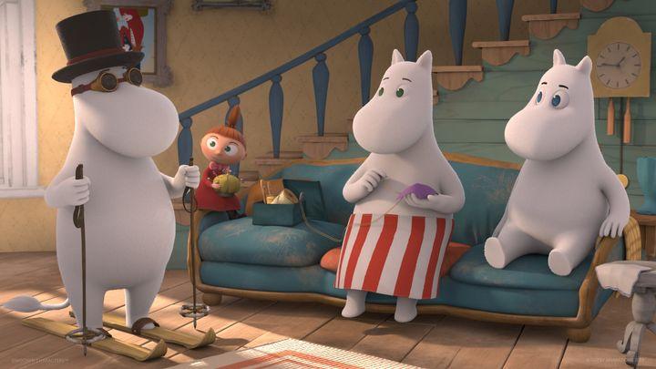© Moomin Characters™  ©  / Gutsy Animations 2020