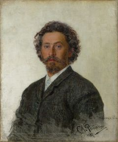 Ilya Repin: Self-Portrait (1887). The State Tretyakov Gallery. © The State Tretyakov Gallery, Moscow