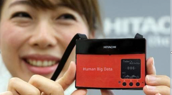 Doctor Kazuo Yano is known for both his groundbreaking AI work and as top expert in happiness research, making it possible to measure happiness digitally. Photo: Hitachi.