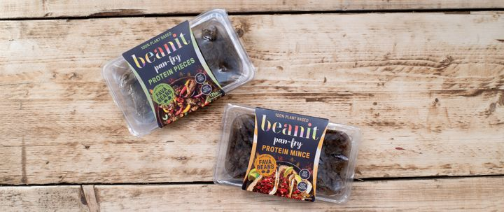 Beanit fava bean protein pieces and mince UK Jan 2020