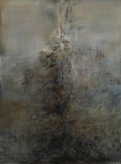 Zao Wou-Ki: Painting (1959). Finnish National Gallery / Ateneum Art Museum. Photo: Finnish National Gallery / Hannu Aaltonen.