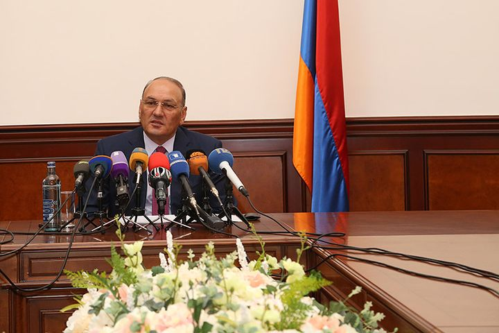 Gagik Khachatryan. Photo credits: State Revenue Committee of the Republic of Armenia, Official Archive, 2015.